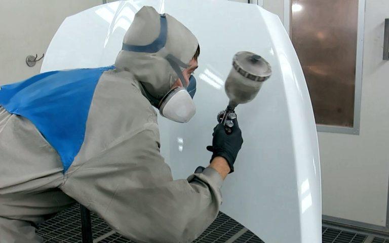 Покраска кузовных элементов автомобиля в камере в Нижнем Новгороде