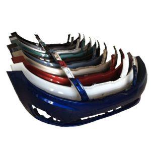 Бампер передний Киа Рио 3 окрашенный в цвет