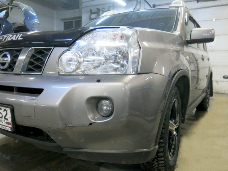 Кузовной ремонт ниссан до