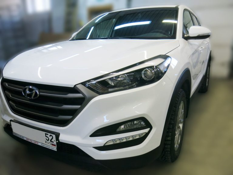 Кузовной ремонт Hyundai Tucson после
