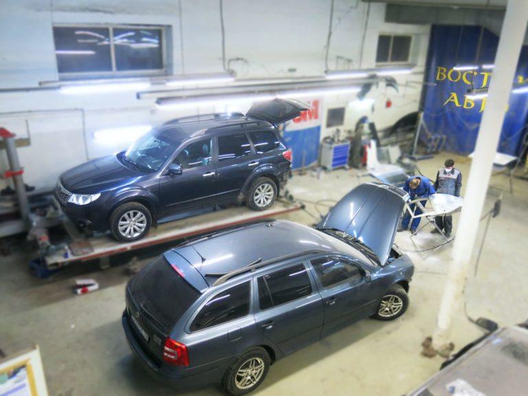 Кузовной ремонт в Нижнем Новгороде
