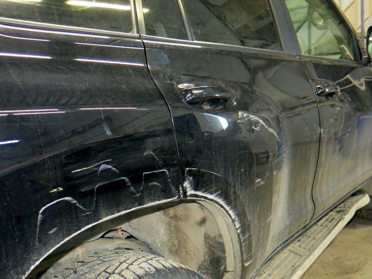 Кузовной ремонт Toyota Land Cruiser Prado