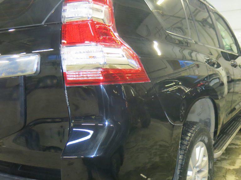 Кузовной ремонт и покраска Тойота Лэнд Крузер Прадо после