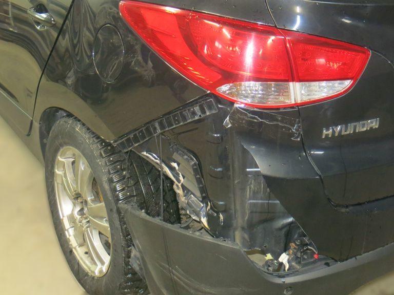 кузовной ремонт хендай айикс 35