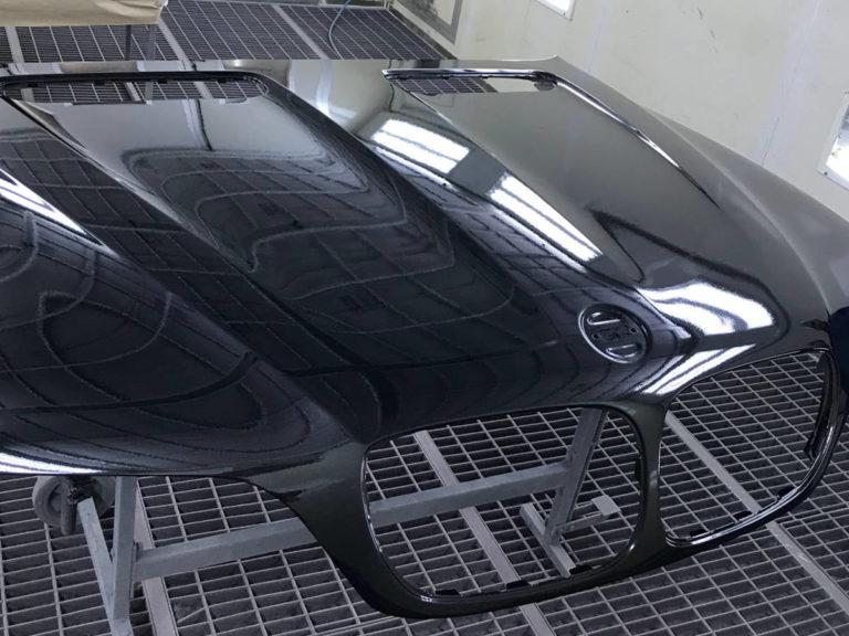 Окраска капота BMW X5